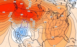 Those Howling East Winds: Air Pressure at the Surface, A Bit of a Blow..., Utah Climate Notes, January 2012, Courtesy Utah Climate Center, Utah State University