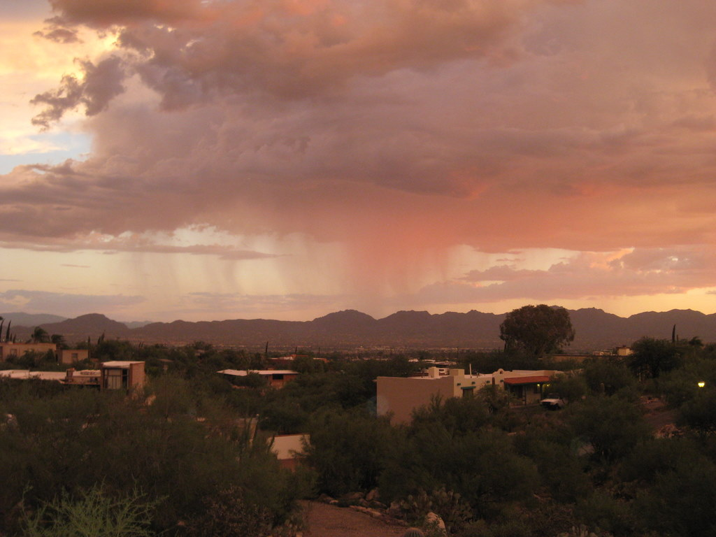 Click to view a larger picture of Virga in Tucson, AZ Courtesy & Copyright 2010 Julio Betancourt, Photographer