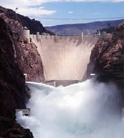 Hoover Dam, Courtesy AZwater.gov, http://www.azwater.gov/AzDWR/StateWidePlanning/CRM/LawoftheRiver.htm
