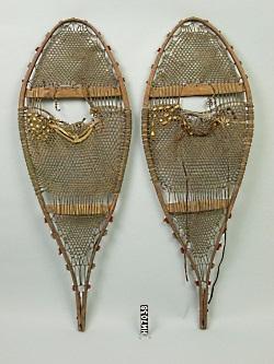 Maliseet Snowshoes, Photo Courtesy & Copyright Hudson Museum, University of Maine