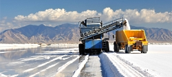 Salt Production, Solar Evaporation, Courtesy Morton Salt, Inc.
