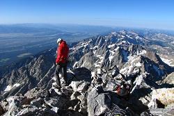 Click to view larger image of Grand Teton virtual climb, Photo Courtesy NPS Photo Courtesy NPS, K Kanes, Photographer