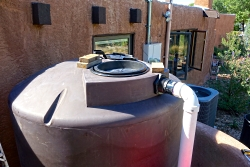 Click to view Rain Water Storage Tank, Photo Courtesy & © Roslynn Brain, Photographer
