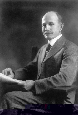 Click to view larger image of Albert Potter, Photo Courtesy USDA Forest Service, The Greatest Good Memorial Film Website http://www.fs.fed.us/greatestgood/