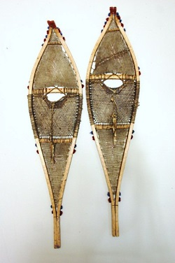 Western Subartic Antique Indian Snowshoes. circa 1890 – 1920., Photo Courtesy & Copyright VintageWinter.com