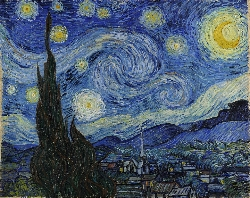 Starry Night Vincent van Gogh Courtesy: Google Art Project