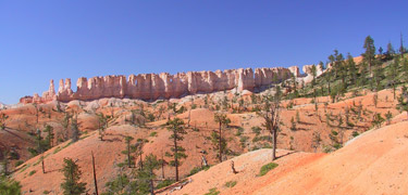 Red Rock Country: Chinese Wall at Bryce Canyon National Park Courtesy NPS.gov http://www.nps.gov/brca/
