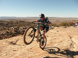 Benefits of Being Wild: Bike Ride in Moab Courtesy and Copyright Matthew Wickenhiser, Photographer