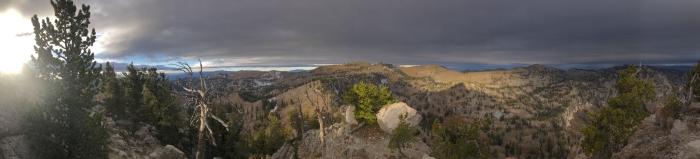Wandering Home: Naomi Ridgeline from the Mt. Magog Summit Courtesy & © Josh Boling, Photographer