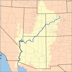 Map of the Colorado River Watershed by Karl Musser based on USGS data This file is licensed under the CCA ShareAlike 2.5 License.