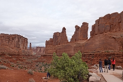 Guests enjoying Arches National Park Courtesy & Copyright Shauna Leavitt