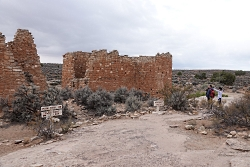 Visitors enjoying a quiet day at Hovenweep National Monument Courtesy & Copyright Shauna Leavitt