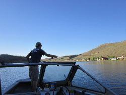Fishing on Scofield Reservoir