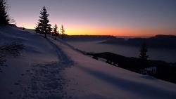 Winter Trail Courtesy Pixabay