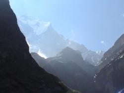 Annapurna region of the Himalaya; Nepal