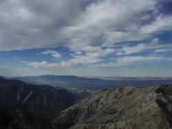 Cache Valley from Naomi Peak ridgeline. Courtesy & © Josh Boling, Photographer