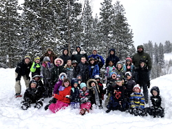 Snowshoes and Adaptations: Our Class The Joy of Teaching Outdoors Courtesy & Copyright Josh Boling, Photographer