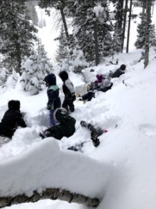 Snowshoes and Adaptations: Enjoying the Snow, Courtesy & Copyright Josh Boling, Photographer