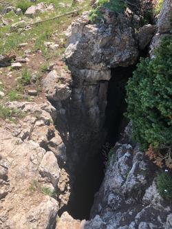 Karst Topography: Entrance to a Karst Cave Courtesy & © Josh Boling