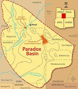 A Deserts Paradox: Paradox Basin Overview Courtesy & Copyright Buffalo Royalties