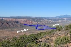 Utah's Desert Paradox: Paradox Valley Courtesy & Copyright GJhikes.com