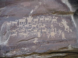 Rock Art: Fremont Petroglyphs in Nine Mile Canyon, UT: Courtesy & Copyright Josh Boling, Photographer