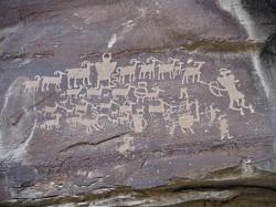 Rock Art: Fremont Petroglyphs in Nine Mile Canyon, UT: Courtesy & Copyright Josh Boling, Photographer