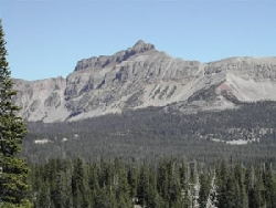 Kings Peak Highest Peak in Utah 13,528 feet ASL Courtesy USDA Forest Service