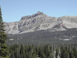 Kings Peak Highest Peak in Utah 13,528 feet ASL Courtesy USDA Forest Service