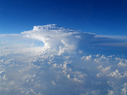 Anvil Cloud from the Air Courtesy NOAA Photo Library, Jane Hartman, Photographer