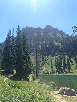 White Pine Lake and Mount Magog, Courtesy & Copyright Hilary Shughart