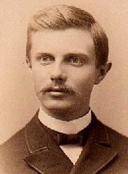 Frederick Jackson Turner c 1890 Public Domain Courtesy Wikipedia